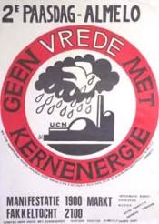 'Geen vrede met kernenergie'