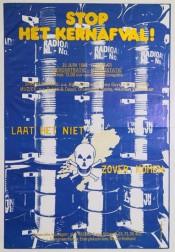 Tegen kernenergie en kernafval