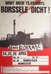 'Nooit meer Tsjernobyl - Borssele dicht!'