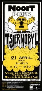 Herdenking Tsjernobyl Almelo
