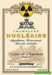 Radioactieve champagne voor VVD en CDA congres