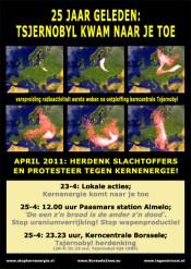 Tsjernobyl-herdenking bij kerncentrale