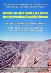 Internationale actiedag tegen uranium ook in Almelo