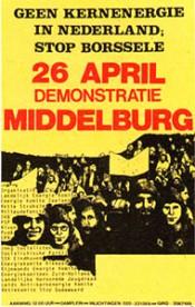 Grote opkomst demonstratie Middelburg