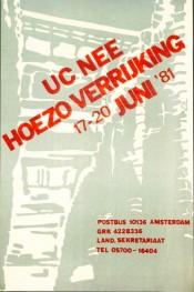 Meerdaagse blokkade UCN-terrein